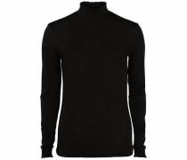 Longshirt 'Thilde 17' schwarz