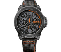 Armbanduhr »New York« schwarz