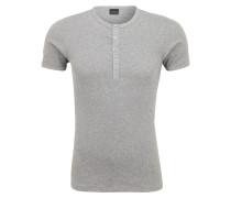 Unterhemd aus Ripp-Jersey grau