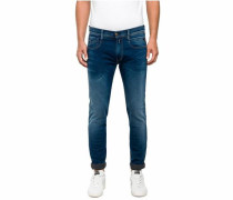 Slim-fit-Jeans 'Anbass Hyperfree' blue denim
