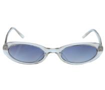 Sonnenbrille blau / mischfarben / transparent