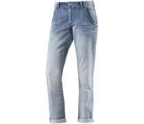 Romy Sweat Jeans Damen blue denim