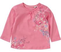 Baby Langarmshirt für Mädchen hellblau / hellgelb / pink / rosa