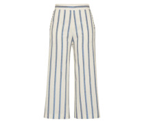 Culotte im Streifen-Design 'Rigato' creme / blau