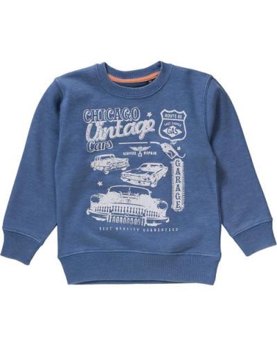 Sweatshirt für Jungen himmelblau