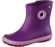 Gummistiefel 'Jaunt Stripes Shorty' aubergine