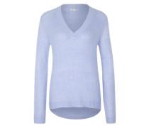 Pullover aus Grobstrick hellblau