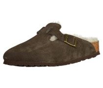 Clogs 'Boston Fur' braun