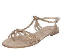 Sandale 'Elle' braun / beige