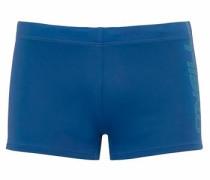 Boxer-Badehose blau