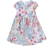 Kinder Kleid hellblau / rosa / weiß