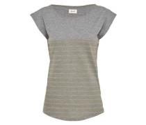 Shirt 'Newport' grau / khaki