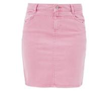 Stretchiger Jeansrock rosa