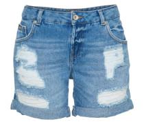 Shorts 'steph Boyfriend' blue denim