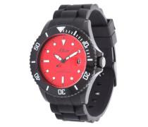 Armbanduhr So-2587-Pq rot / schwarz