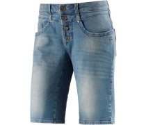 'Juno' Jeansshorts Damen blue denim