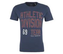 Sportives Printshirt blau