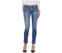 "Hilfiger Denim Jeans ""Mid rise slim Naomi 7/8 Slbst"" blau"