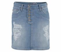 Jeans Minirock blau