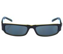 Sonnenbrille aqua / petrol / schwarz