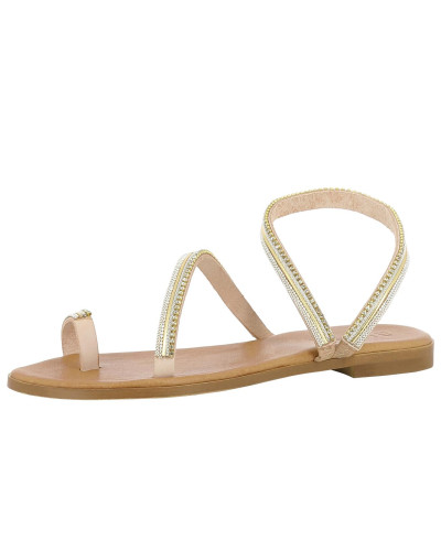 Sandale 'olimpia' gold