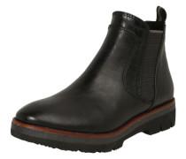 Chelsea Boots mit Mustermix schwarz