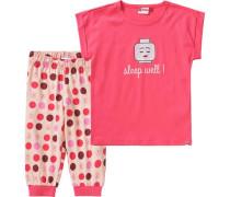 Schlafanzug Nevada für Mädchen rosa