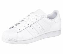Superstar J Sneaker weiß