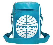 Tasche Pan Am - Pan American World Airways türkis / weiß