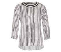 Streifen-Shirt 'Galetta' schwarz / weiß
