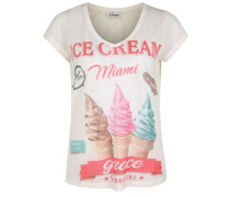 T-Shirt Icecream weiß