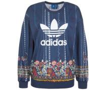Sweatshirt 'Cirandeira' blau / mischfarben