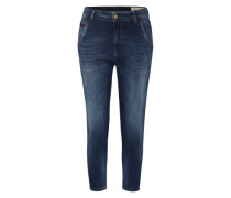 'Fayza-Evo' Jeans Tapered Fit 860L blau