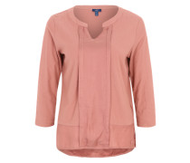 Shirt 'Structure Mix' beere