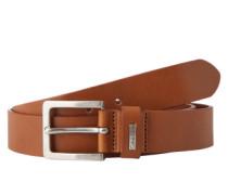 Leder-Gürtel 'Mino Belt 3' braun