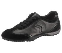 Snake Sneakers schwarz