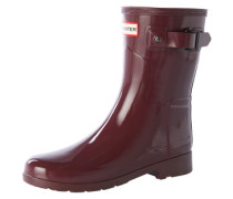 Gummistiefel 'original Refined Short Gloss' rot