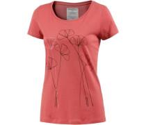 Printshirt pastellrot