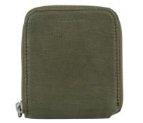 'w28' Geldbörse 10 cm dunkelgrün
