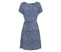 Kleid 'Billie Catnip' creme / royalblau