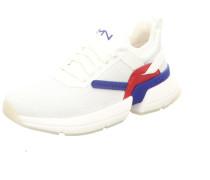Sneakers weiß / blau / rot