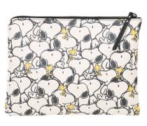 Clutch 'Snoopy' gelb / schwarz / weiß