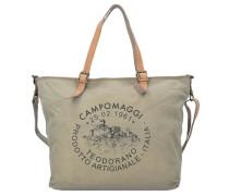 'Eucalipto Shopper' Tasche 45 cm beige