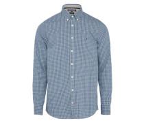 Hemd 'gingham' blau / weiß