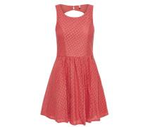 Spitzen-Kleid ohne Ärmel pink