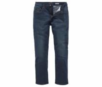 Straight-Jeans dunkelblau