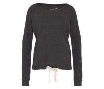 Sweater mit Tunnelzug grau