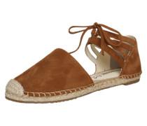 Sandale in Espadrille-Form braun