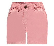 Junior Shorts Washed-Out-Optik Mädchen Kinder rosé