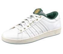 Sneaker 'Hoke Premium' dunkelgrün / weiß